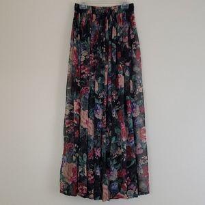 Christine Parker Boho Hippie 90's Skirt - M
